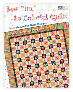 Sew Fun, So Colorful Quilts - Book